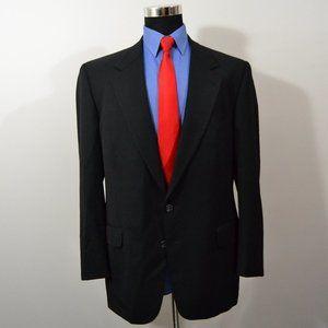 Joseph Abboud 44R Sport Coat Blazer Suit Jacket Bl
